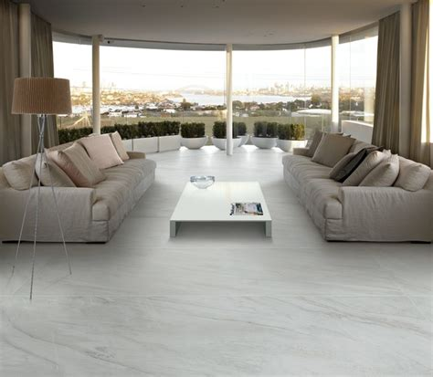 living room marble floor panaria utopia slimline marble look tile modern living