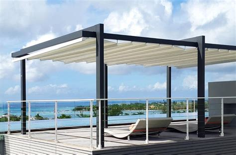 retractable shade awnings the forli free standing pergola cover retractableawnings com
