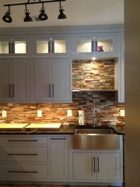 rustic kitchen backsplash tile 407 best images about for the home on