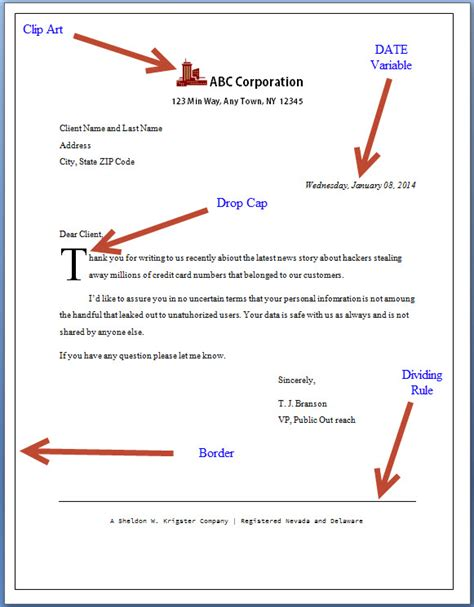 A Place Date How To Create A Ms Word Form Letter In 15 Seconds Technical Communication Center