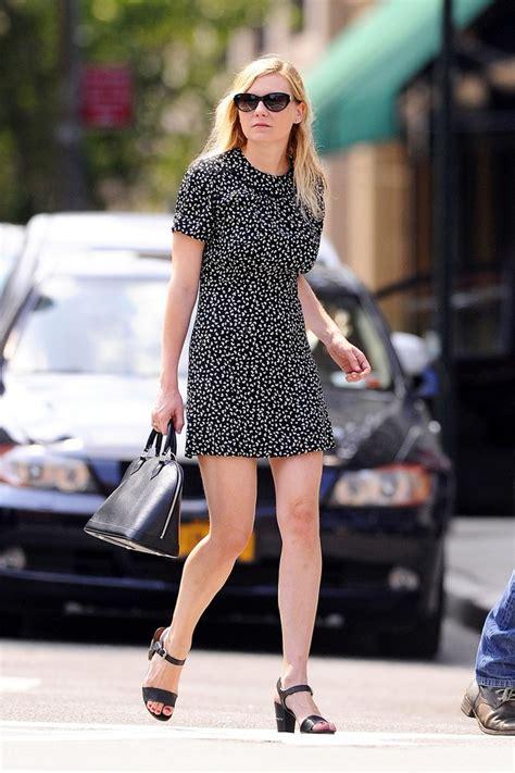 Kirsten Dunst Needs A Better Stylist by Kirsten Dunst Print Dress Kirsten Dunst Looks Stylebistro
