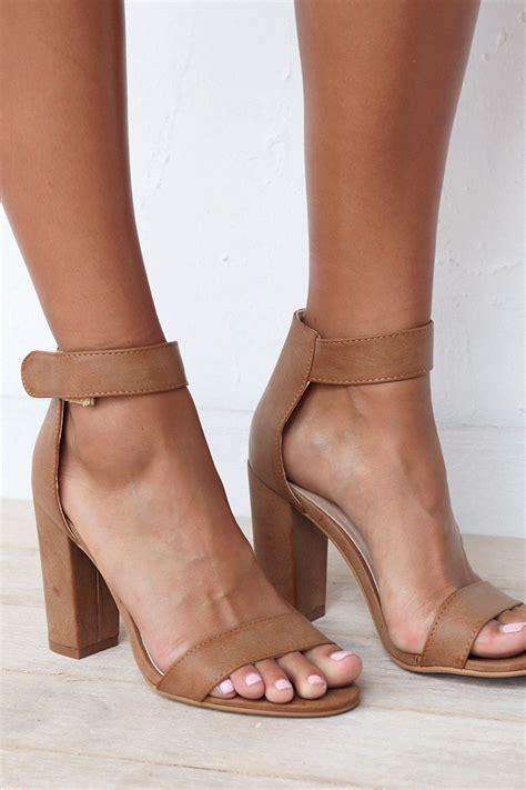 brown sandal heels your go to heel is here the pia heels in feature
