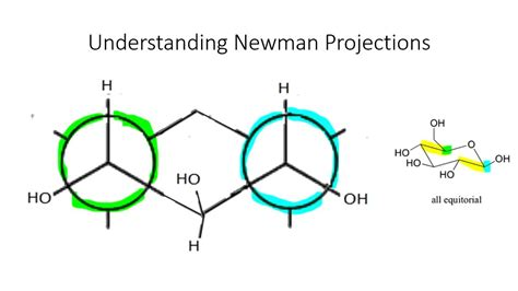 Drawing Newman Projections by Org Chem Reference On Cyclohexane Newman