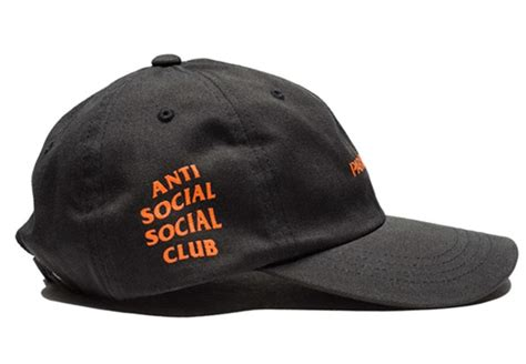 Topi Baseball Paranoid Anti Social Club Point Store anti social social club undefeated paranoid assc baseball cap solid hat ebay