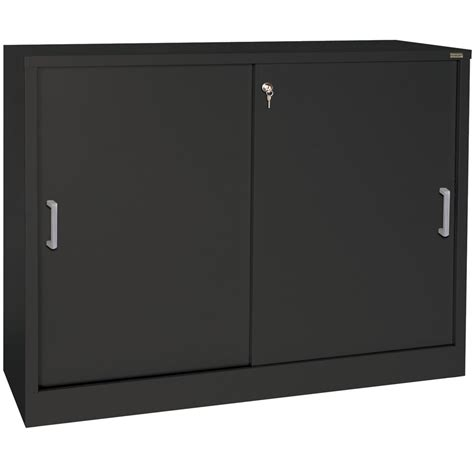 Cabinets Sliding Doors Sliding Door Storage Cabinet 29 Inch High In Storage Cabinets