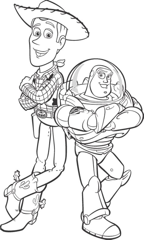 free printable disney toy story coloring pages print it
