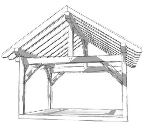 14x16 Timber Frame Timber Frame Hq Timber Frame House Construction Plans