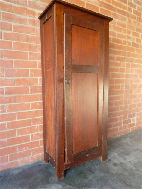 Antique Pantry Cabinet by Vintage Antique Rustic Jarrah Linen Pantry Storage