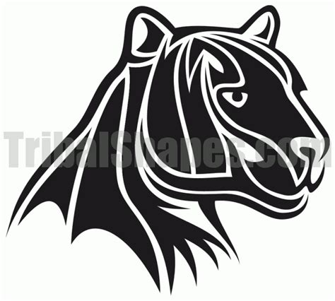 black panther tribal tattoo designs black panther tribal designs