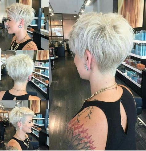 trendy hairstyles for 2015 instagram short pixie platinum blonde hair cut 2016 hair ideas