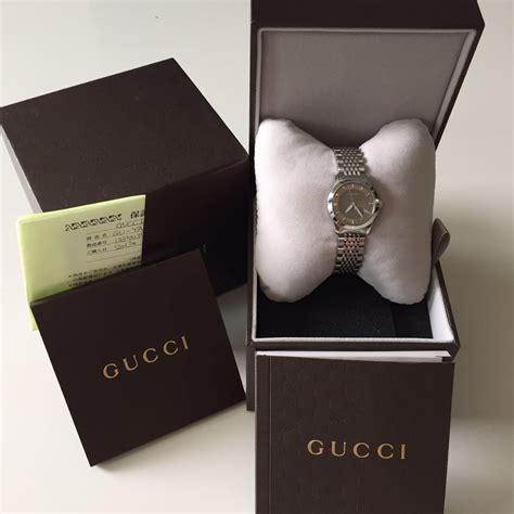 Jam Tangan Wanita Merk Gucci Tali Kulit Leather 1 Jual Beli Tukar Tambah Service Jam Tangan Mewah