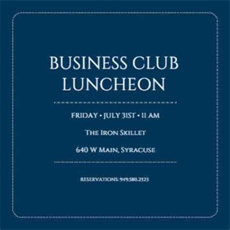 business event invitation templates free templates