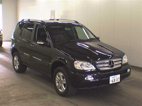 2004 mercedes benz m class ml350 special edition japanese used cars auction online japanese