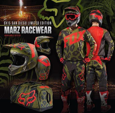 motocross gear san diego new product 2015 fox san diego le 360 marz racewear