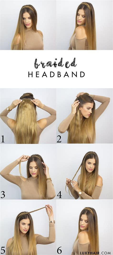 Back To School Hairstyles For Hair by 6 Heatless Back To School Hairstyles Luxy Hair