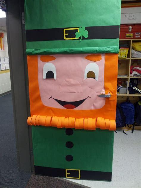 St Day Door Decorations by St Patricks Day Door School Daze
