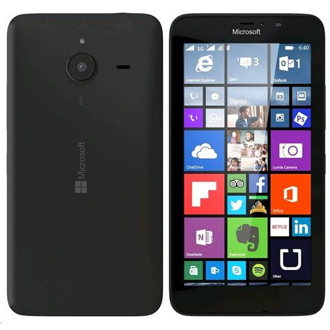 Hp Nokia Lumia 640 Xl Lte nokia lumia 640 xl 8gb 4g lte matte black windows smart phone att mint condition used cell