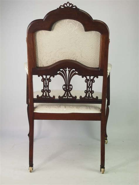 vintage bedroom chair antique edwardian mahogany armchair bedroom chair