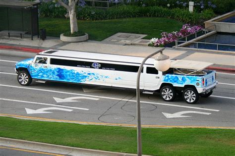 hummer limousine with pool stretch hummer limousine w pool flickr photo