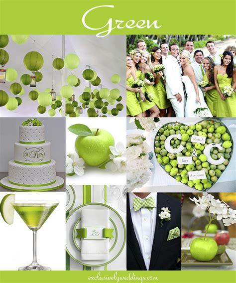 green wedding colors the 10 all time most popular wedding colors exclusively