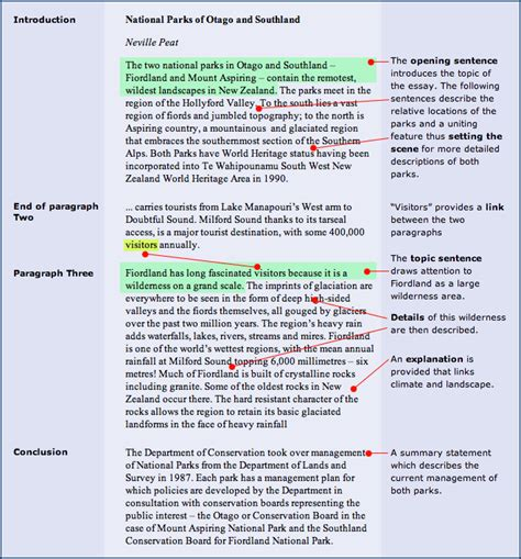 oil paragraphs