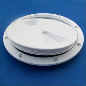 rwo r4060 white inspection cover 6 inch