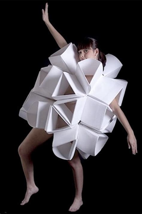 Origami Garments - 44 best images about textiles multiples on