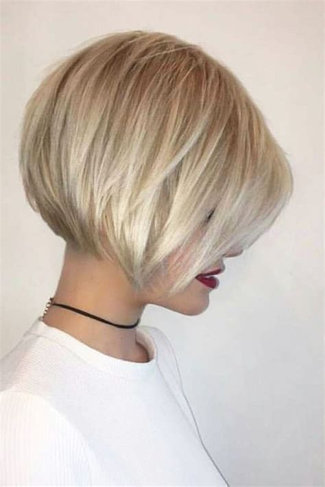 Short Stacked Bob For Fat Women | 35 fabulous short haircuts for thick hair