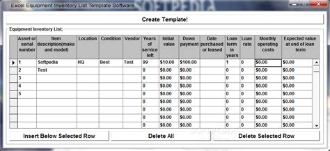 it application inventory template application inventory template in excel free