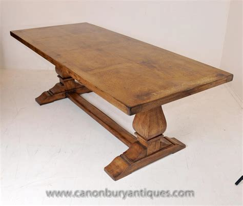 trestle table with bench english farmhouse oak refectory table trestle tables