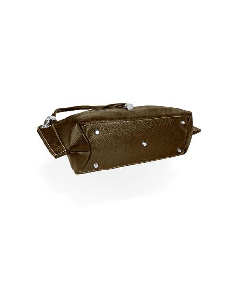 The Buti Charm Drop Bag by Lyst Buti Charm Drop Brown Pebble Italian Leather