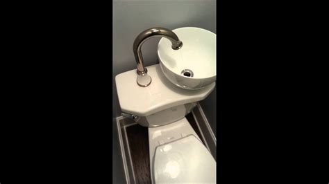 Toilet Sink Combination by Space Water Saving Sink Toilet Combo
