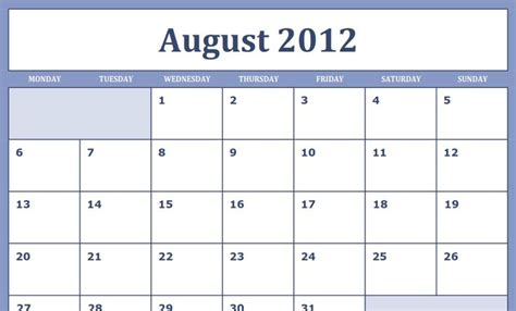 august 2012 calendar template aug 2012 calendar printable new calendar template site