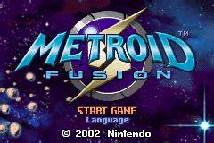 emuparadise metroid fusion metroid fusion u gbanow rom