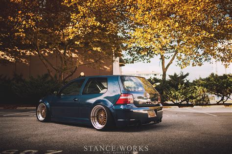 volkswagen golf stance the long way around mike houck s awd turbo diesel mkiv