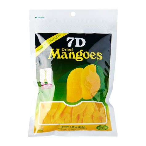 7d Dried Mango 7d dried mangoes 200g 200g from redmart