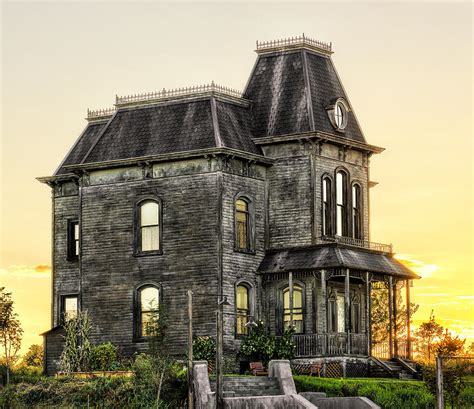 Bates Motel House by Bates Motel Haunted House Photograph By Paul W Sharpe Aka