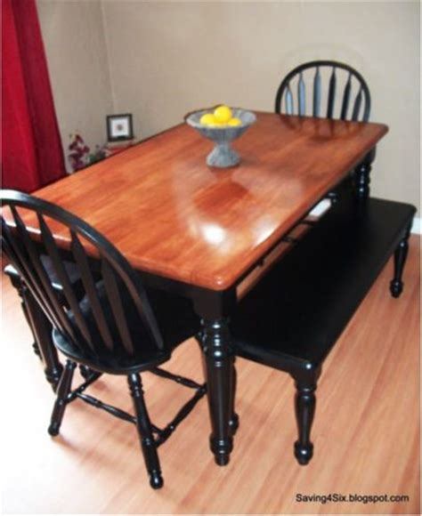 Diy Dining Room Table Makeover by Diy Dining Room Table And Chairs Makeover Tutorial For