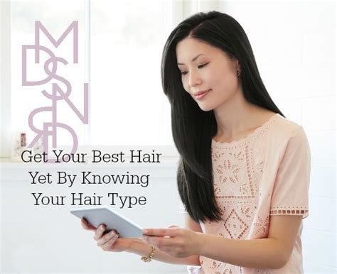 Knowing Your Hair Type by Get Your Best Hair Yet By Knowing Your Hair Type
