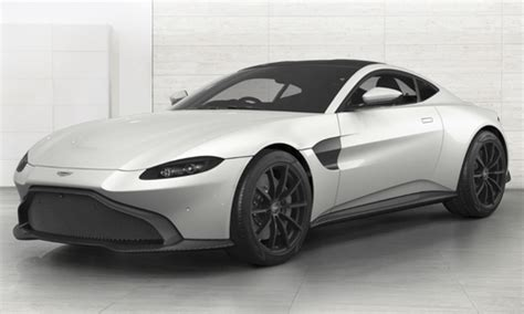 2019 Aston Martin Vantage Configurator by Configuratore Nuova Aston Martin Nuova Vantage E Listino