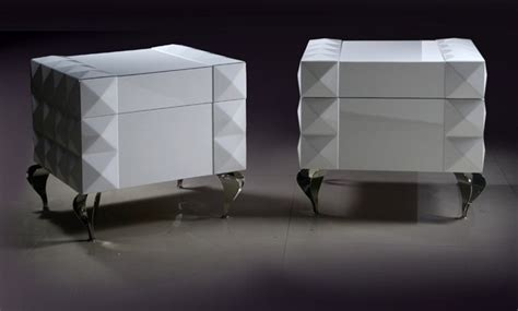 cool bedside ls white lacquer nightstand white lacquer nightstand with drawers and four