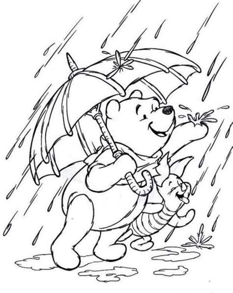 coloring pages with rain coloring pages rainy day az coloring pages