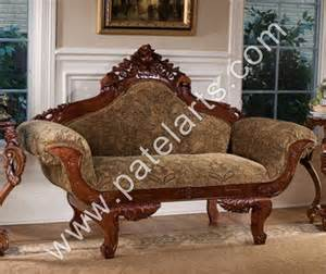 Silver Gift Items India Wooden Sofa Sets Indian Carved Sofa Sets Carving Wooden