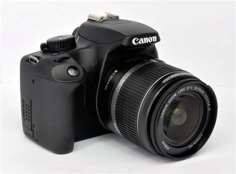 Dslr Canon Eos 1000d Kit 18 55mm 7 canon eos digital rebel xs 1000d 10 1 mp black dslr