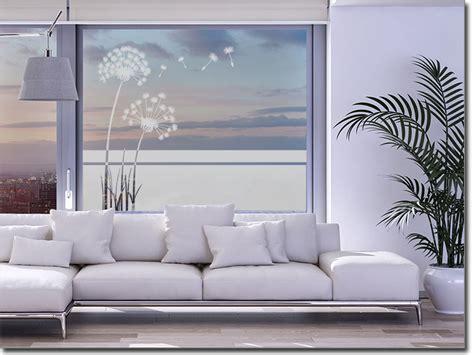 Fenster Sichtschutzfolie Obi by Fensterfolie Pusteblume Fensterperle De