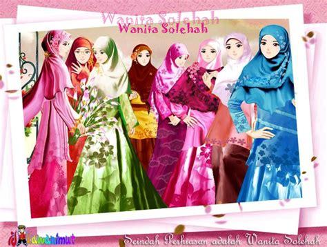 satu yang aku perasan kartun doodles muslimah ini tone warnanya