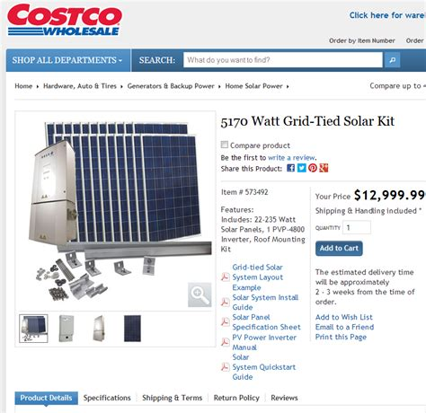 costco solar panels an update on my solar power project results show why i got solar power for my home hint