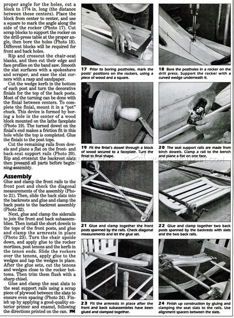 rocking toy woodworking plans