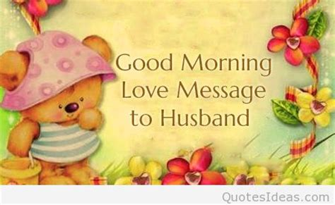 messages to husband messages morning