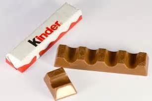 kinder le kinder chocolate